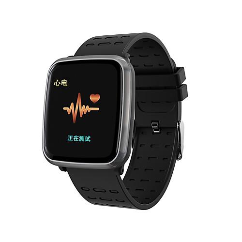 Indear K02 Смарт Часы Android iOS Bluetooth Smart Спорт Водонепроницаемый Пульсомер Измерение кровяного давления ЭКГ PPG фото