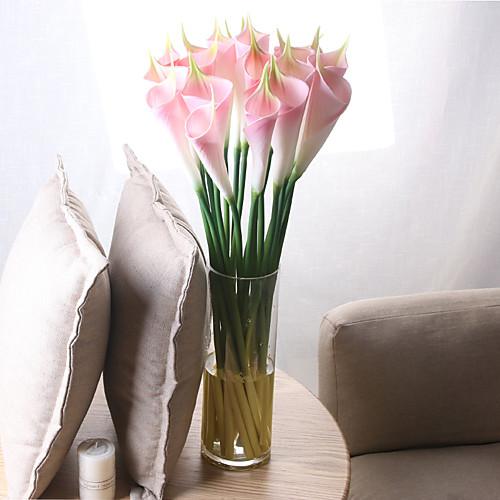 Искусственные Цветы 5 Филиал Классический европейский Простой стиль Калла Вечные цветы Букеты на стол