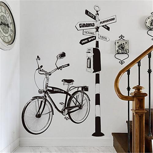 Креативная гостиная диван фон украшения ручной росписью велосипедные наклейки персонализированные кабинет коридор крыльцо велосипедные наклейки