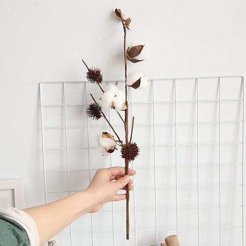 Искусственные Цветы 1 Филиал Классический Современный современный Pастений Букеты на стол