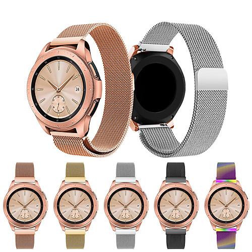 Ремешок для часов для Samsung Galaxy Watch 42 Samsung Galaxy Спортивный ремешок / Миланский ремешок Нержавеющая сталь Повязка на запястье фото