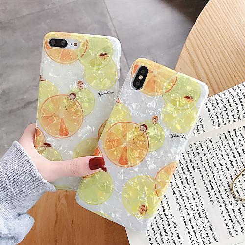 Чехол для яблока iphone xr / iphone xs max шаблон задняя крышка еда мягкое тпу для iphone x / xs / 6/6 плюс / 6s / 6s плюс / 7/7 плюс / 8/8 плюс фото