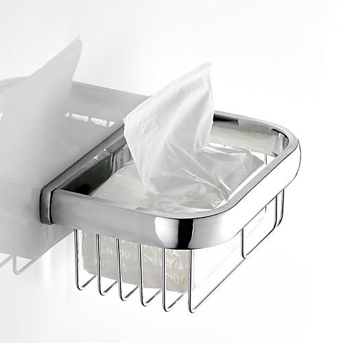 Держатель для туалетной бумаги / Полка для ванной / Мыльницы и держатели Новый дизайн Современный / Modern Латунь 1шт На стену