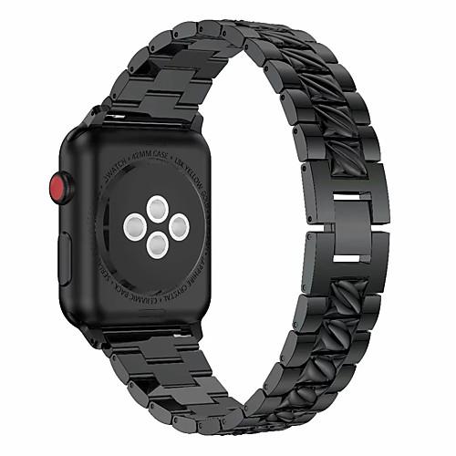 Ремешок для часов для Apple Watch Series 4/3/2/1 Apple Дизайн украшения Металл Повязка на запястье