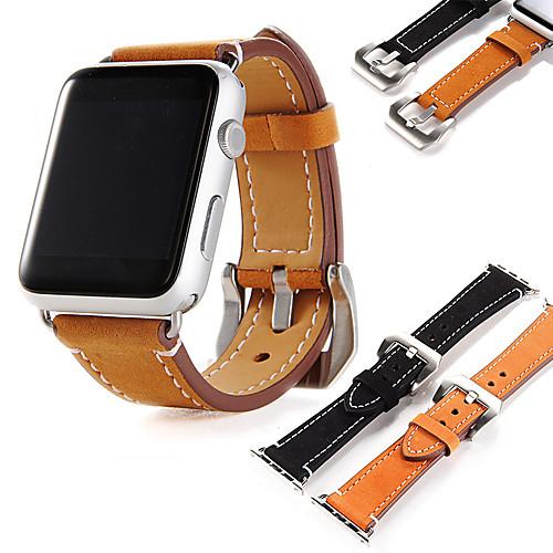 Ремешок для часов для Apple Watch Series 4/3/2/1 Apple Современная застежка Натуральная кожа Повязка на запястье фото