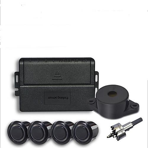 Car Auto 4-Sensor Parking Radar Kit Reverse Radar Alarm System