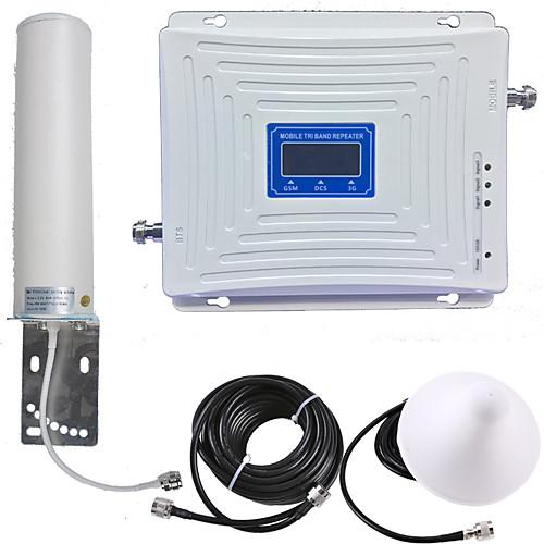 2g / 3g / 4g мобильный усилитель сигнала усилитель сигнала усилитель сигнала 900/1800/2100 двухдиапазонный GSM / DCS / WCDMA фото