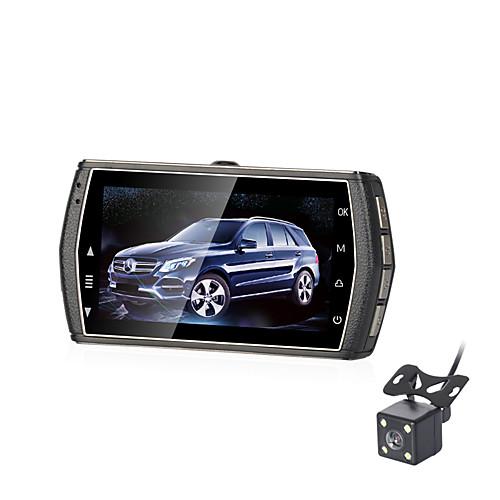 B302 720p Мини / HD / Ночное видение Автомобильный видеорегистратор 170° Широкий угол 3 дюймовый LCD Капюшон с G-Sensor / Режим парковки / Циклическая запись Нет Автомобильный рекордер фото