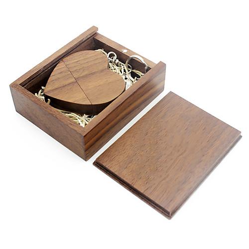 Ants 32GB usb flash drive usb disk USB 2.0 Wooden / Bamboo love wooden gift box