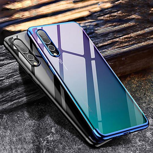 Кейс для Назначение SSamsung Galaxy A9 Star / Galaxy A9 (2018) Покрытие Кейс на заднюю панель Прозрачный Мягкий ТПУ для A5(2018) / A6 (2018) / Galaxy A7(2018)