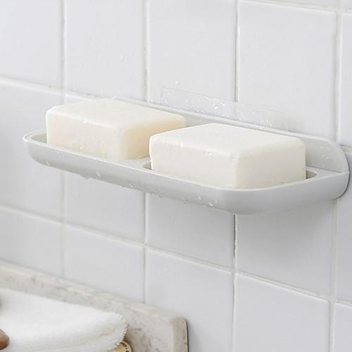 Мыльницы и держатели Самоклеющиеся Пластик 1шт - Ванная комната На стену