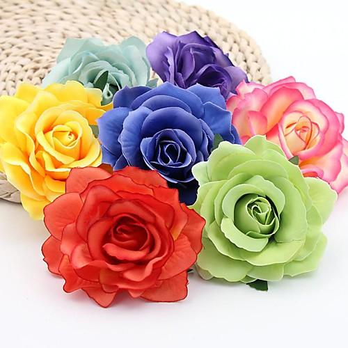 Искусственные Цветы 5 Филиал Классический Свадьба Пастораль Стиль Розы Вечные цветы Букеты на стол