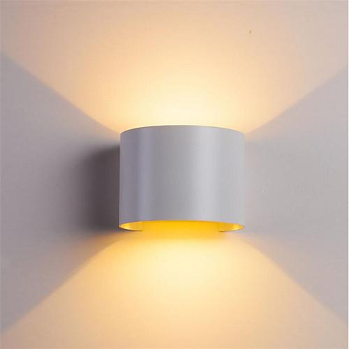 ONDENN Водонепроницаемый / Диммируемая LED / Современный современный Настенные светильники В помещении / На открытом воздухе Алюминий настенный светильник IP67 85-265V 10 W