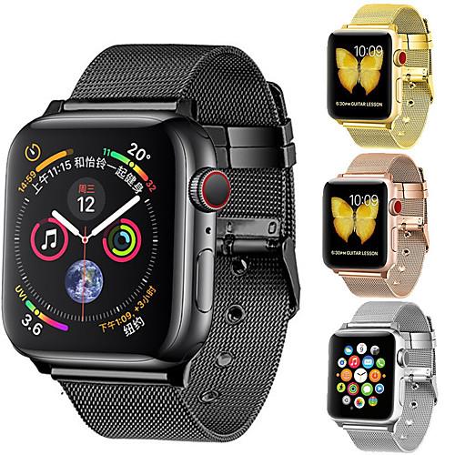Ремешок для часов для Apple Watch Series 4/3/2/1 Apple Миланский ремешок Нержавеющая сталь Повязка на запястье