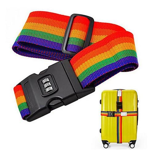 Дорожная сумка / Багажный ремешок для путешествий / Пряжка ремня безопасности Регулируется / Прочный Нейлон 2005 cm см