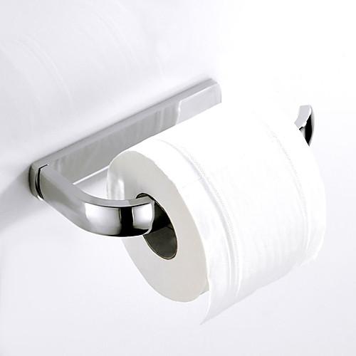 Держатель для туалетной бумаги Новый дизайн Современный / Modern Латунь 1шт На стену