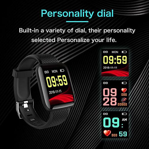 KUPENG Y6 Умный браслет Android iOS Bluetooth Smart Спорт Водонепроницаемый Пульсомер Измерение кровяного давления / Датчик для отслеживания активности / Датчик для отслеживания сна / будильник