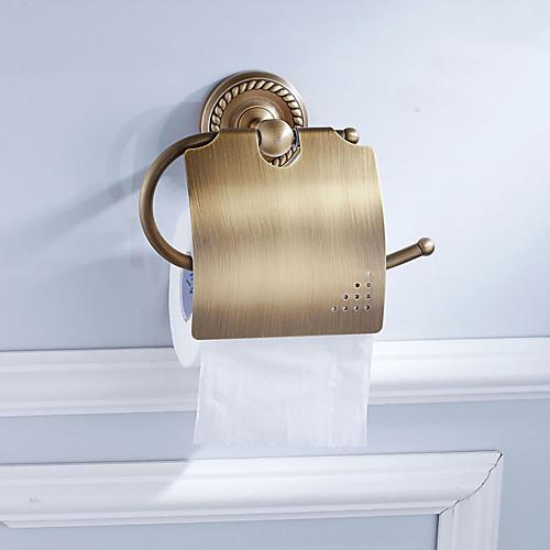 Держатель для туалетной бумаги Новый дизайн Античный Латунь 6шт - Гостиничная ванна На стену