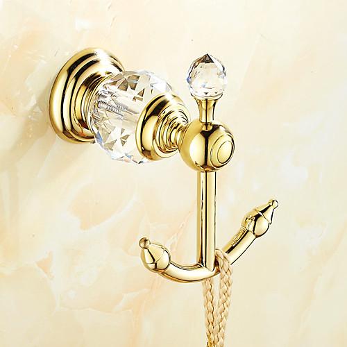 Крючок для халата Креатив Латунь 1шт - Ванная комната На стену