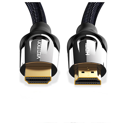 Vention HDMI Cable HDMI to HDMI Cable 4K HDMI 2.0 3D 60FPS Cable for Splitter Switch TV LCD Laptop PS3 Projector Computer Cable 1m