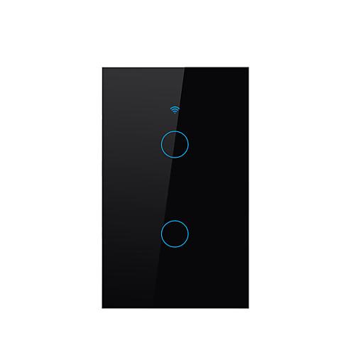SESOO Smart Switch для Повседневные / Гостиная / Спальня Защита от влаги / Сенсорный экран / Контроль APP WIFI 100-240 V