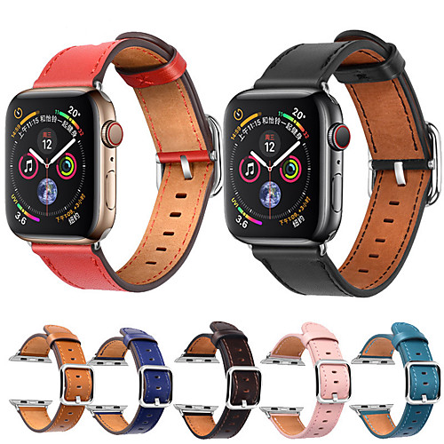Ремешок для часов для Apple Watch Series 4 Apple Современная застежка Натуральная кожа Повязка на запястье фото