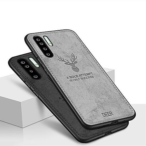 Case For Huawei Huawei P30 / Huawei P30 Pro Shockproof / Embossed / Pattern Back Cover Animal / 3D Cartoon Soft TPU / Oxford Cloth for Huawei P20 / Huawei P20 Pro / Huawei P20 lite