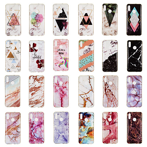 Case For Samsung Galaxy Galaxy S10 Plus / Galaxy S10 E Pattern Back Cover Marble Soft TPU for Galaxy Samsung s3 s4 s5 s6 s6edge S7 S7edge S8 S8PLUS S9 S9PLUS S10 S10 PLUS S10LITE
