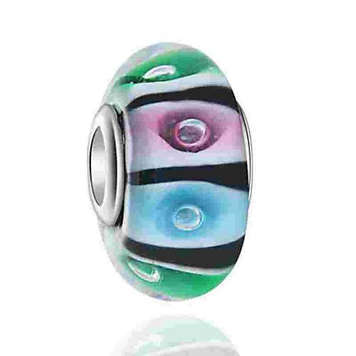 Креатив Бусины Ювелирные изделия DIY - Ювелирные изделия Цвет радуги Браслеты Ожерелье фото