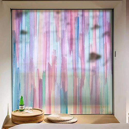 мода творчество подвижная пленка окна пвх&усилитель; наклейки украшения геометрические
