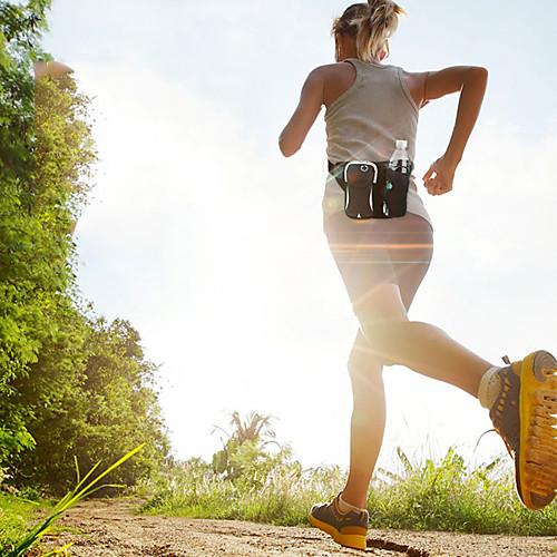 Чайник сумка талии сумка для мужчин и женщин путешествия многофункциональный двойной спортивный водонепроницаемый регулируемый дорожная сумка карман 6 дюймов