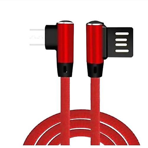 Micro USB Адаптер USB-кабеля Плетение / Высокая скорость Кабель Назначение Samsung / Huawei / Xiaomi 100 cm Назначение Нейлон