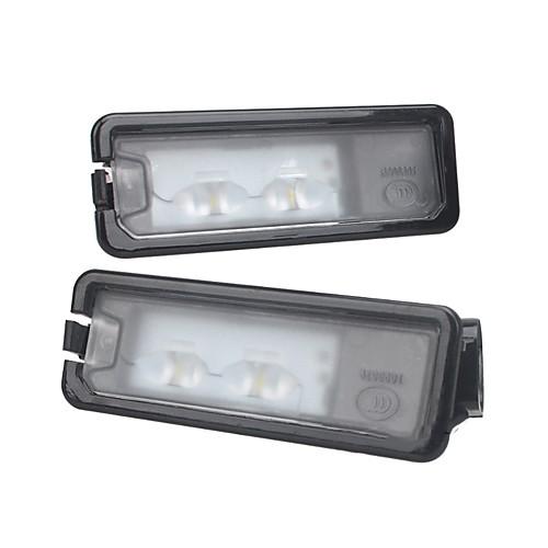 Светодиодный задний номерной знак света лампы для VW Beetle Polo Golf MK7 без ошибок