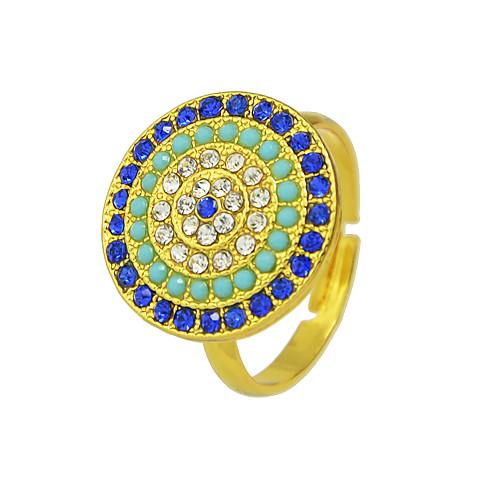 Жен. геометрический Кольцо Стиль Мода Модные кольца Бижутерия Золотой Назначение Повседневные