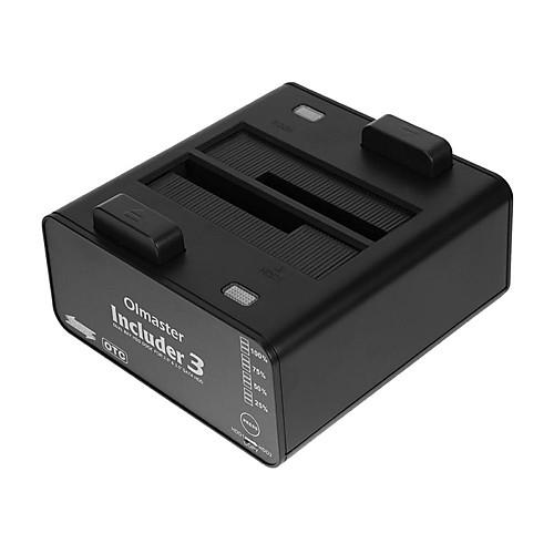 Olmaster USB 3.0 в SATA 3.0 Док-станция для внешнего жесткого диска Автоматическое конфигурирование / с USB-портами / со светодиодным индикатором 8000 GB Includer3