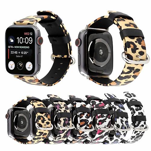 Ремешок для часов для Apple Watch Series 4/3/2/1 Apple Классическая застежка Натуральная кожа Повязка на запястье