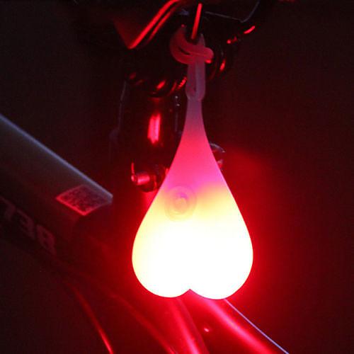 Светодиодная лампа Велосипедные фары Светодиодные лампы Задняя подсветка на велосипед огни безопасности Велоспорт Водонепроницаемый Новый дизайн Простота транспортировки CR2032 20 lm