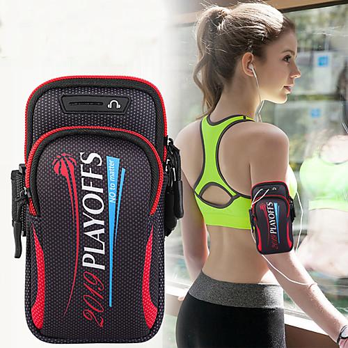 Унисекс сумка сумка спортивная сумка для бега тренажерный зал рука с держателем сумка мобильный телефон ключ сумка 6,4 дюйма фото