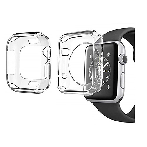 2 Pack For Apple Watch Series 4 3 2 1 Screen Protector Cover Case Soft Clear Thin 40mm 44mm 38mm 42mm
