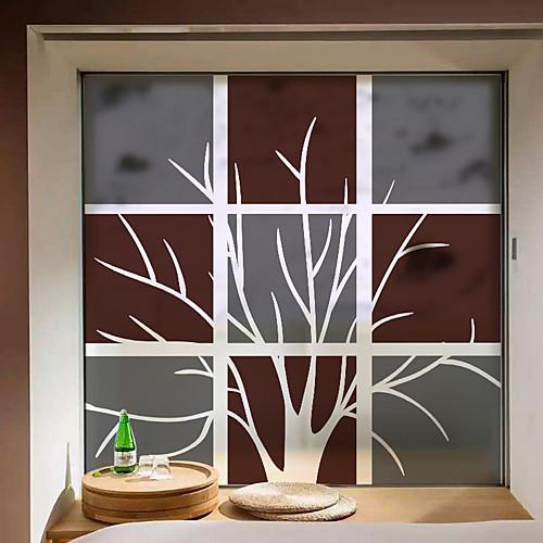 творческое дерево подвижная оконная пленка пвх&усилитель; наклейки украшения геометрические
