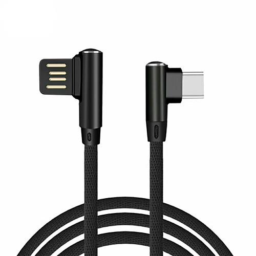 Type-C Адаптер USB-кабеля Плетение Кабель Назначение Huawei 100 cm Назначение Нетканые