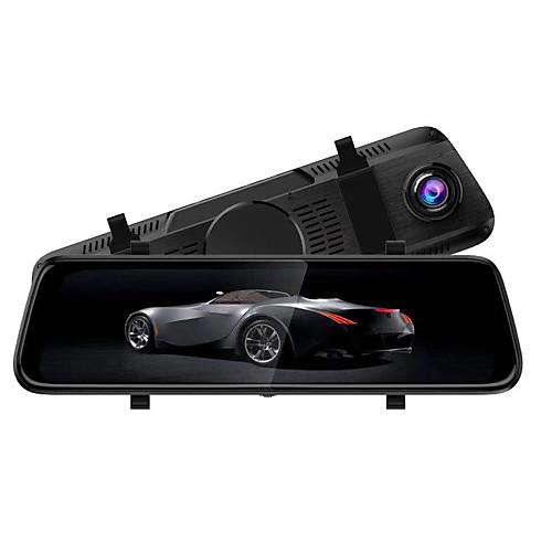 S-8 1080p Автомобильный видеорегистратор 170° Широкий угол КМОП-структура 10 дюймовый IPS Капюшон с Ночное видение / Режим парковки / Циклическая запись Автомобильный рекордер фото