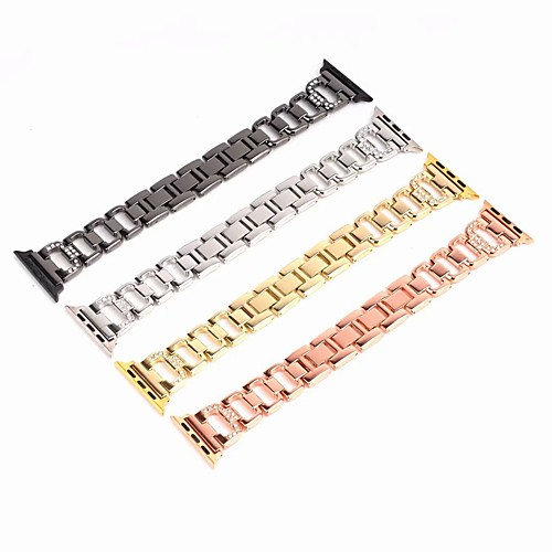 Watch Band for Apple Watch Series 4/3/2/1 Apple Jewelry Design Stainless Steel Wrist Strap