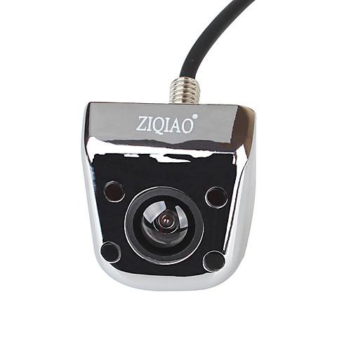 Ziqiao 4 светодиодные ик ночного видения камера заднего вида водонепроницаемый резервный парковочная камера универсальный широкоугольный заднего вида автомобиля камера заднего вида фото