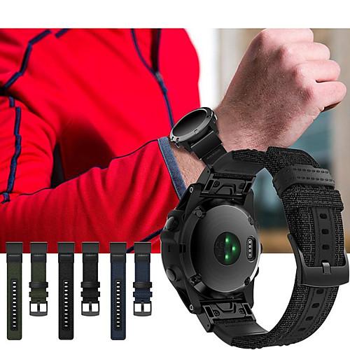 Ремешок для часов для Huawei Watch 2 Huawei Спортивный ремешок Кожа / Нейлон Повязка на запястье фото