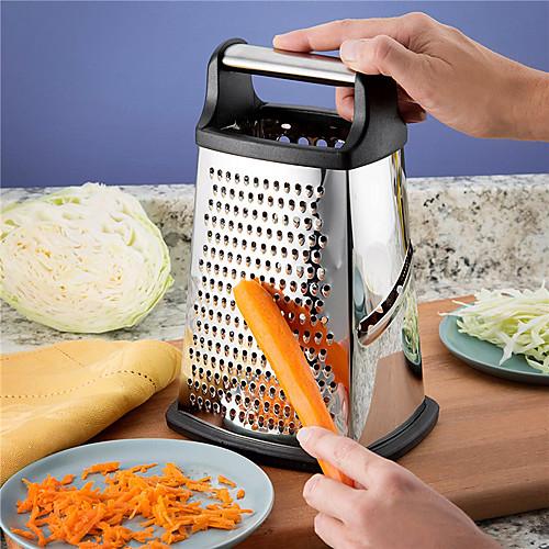 4 стороны нержавеющей стали профессиональная терка для ящика с пожизненной гарантией замены овощей и фруктов измельчитель пищевых продуктов для сыра