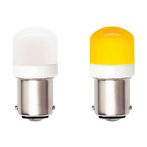 2pcs 1156 BA15S Auto Car LED Light Bulbs 4.5W 9-30V 3030 SMD 6 LED White Yellow for Turn Signal Lamp DRL Fog Lamp Brake Light