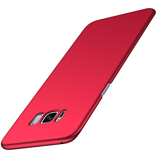 Case For Samsung Galaxy S8 / S8 Plus Ultra-thin Back Cover Solid Colored Hard PU Leather for S6 / S6 edge / S7 edge S7