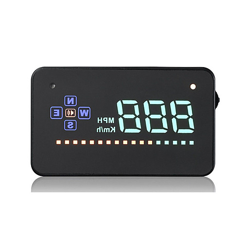 GPS HUD Digital Universal HD Projection Display Car Truck Speedometer Speed Warning