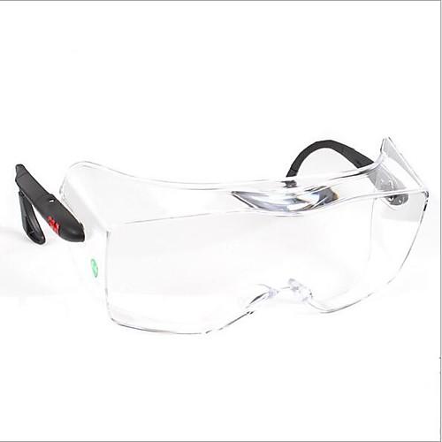 3M12308 goggles laboratory protective glasses anti-fog dust-proof sand-proof scratch-proof windproof belt myopia